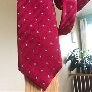 Charles Tyrwhitt 100% Silk Polka Dot Tie